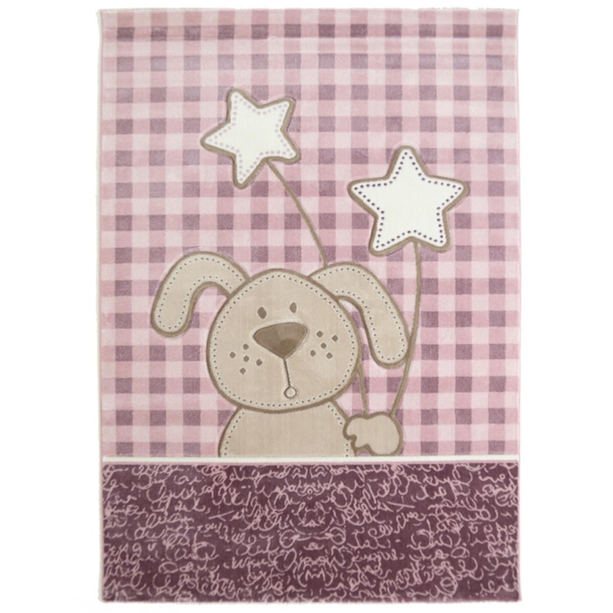 Παιδικό Χαλί (160x230) Royal Carpets Sky 6575A Pink