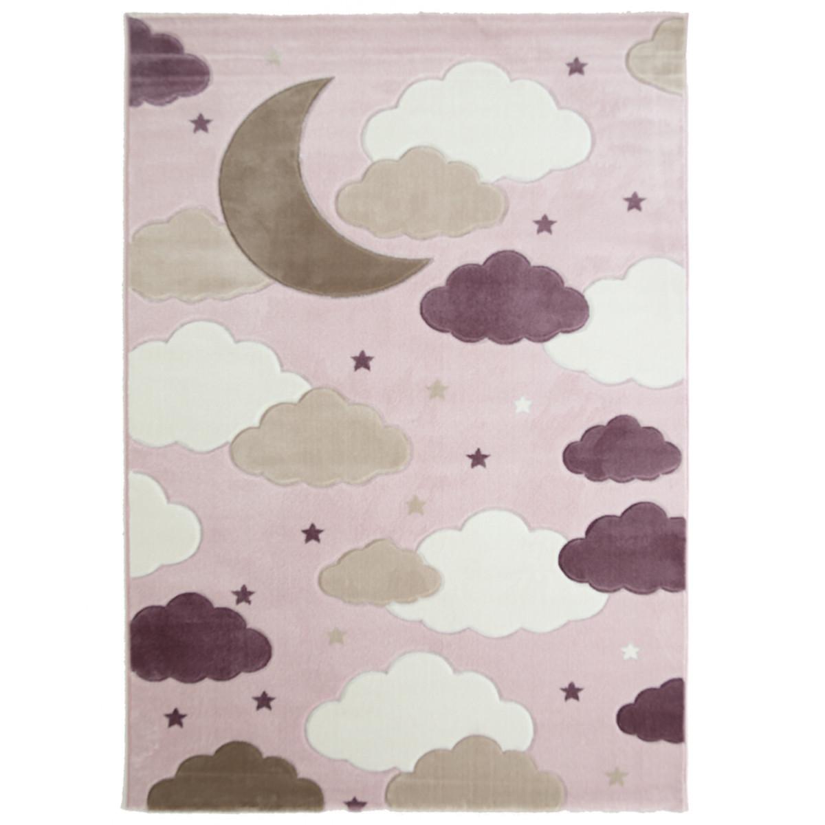 Παιδικό Χαλί (133x190) Royal Carpets Sky 6576A Pink