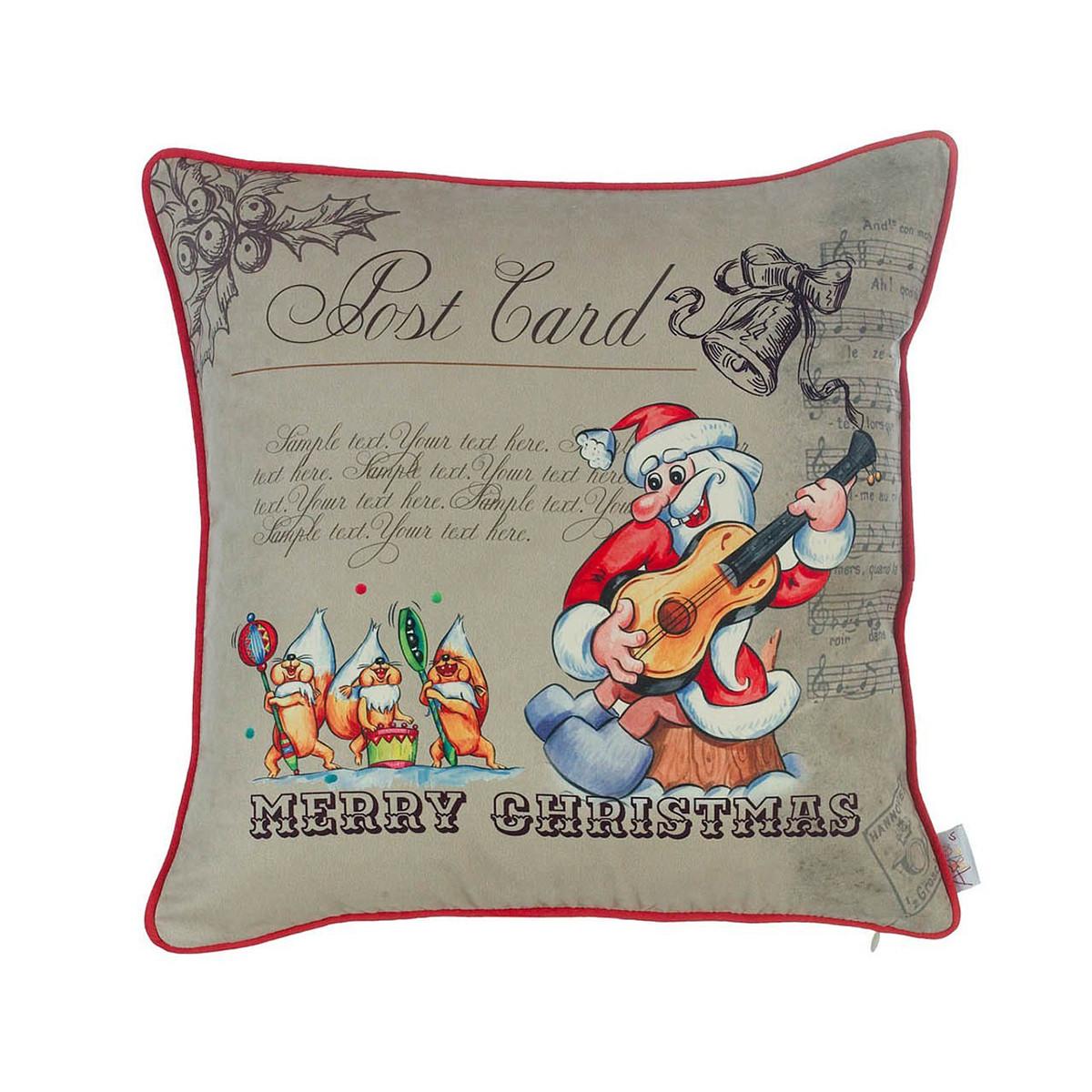 Χριστουγεννιάτικη Μαξιλαροθήκη (43×43) Apolena 02-9751/1