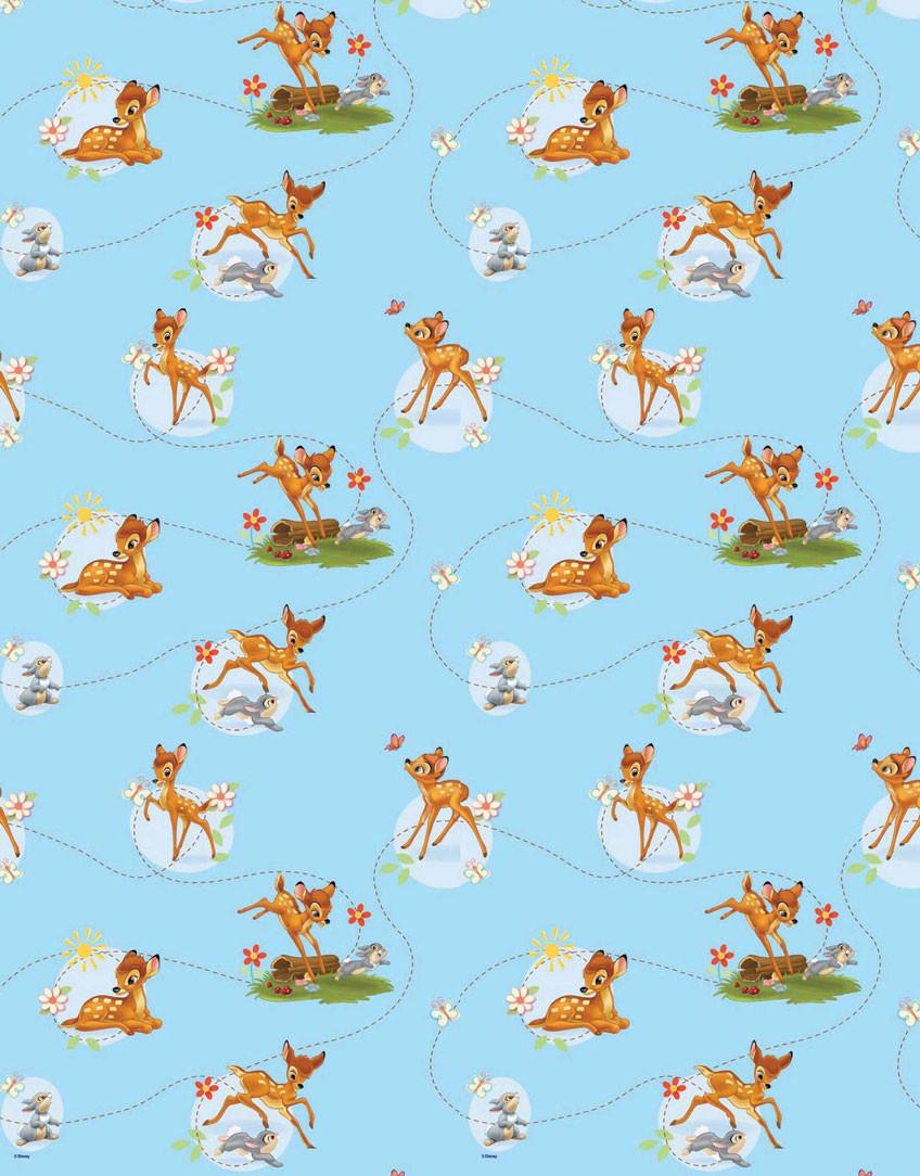 Παιδική Κουρτίνα (140×290) Με Τρέσα Disney Bambi 38