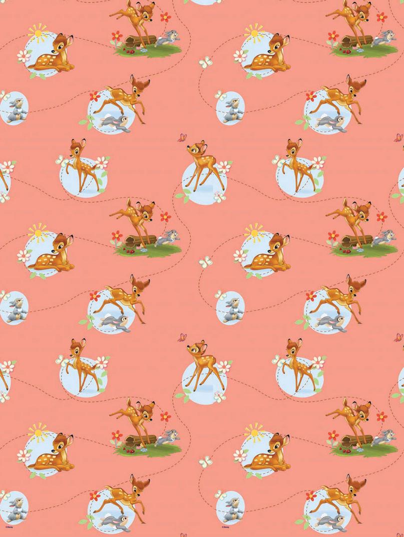 Παιδική Κουρτίνα (140×290) Με Τρέσα Disney Bambi 33