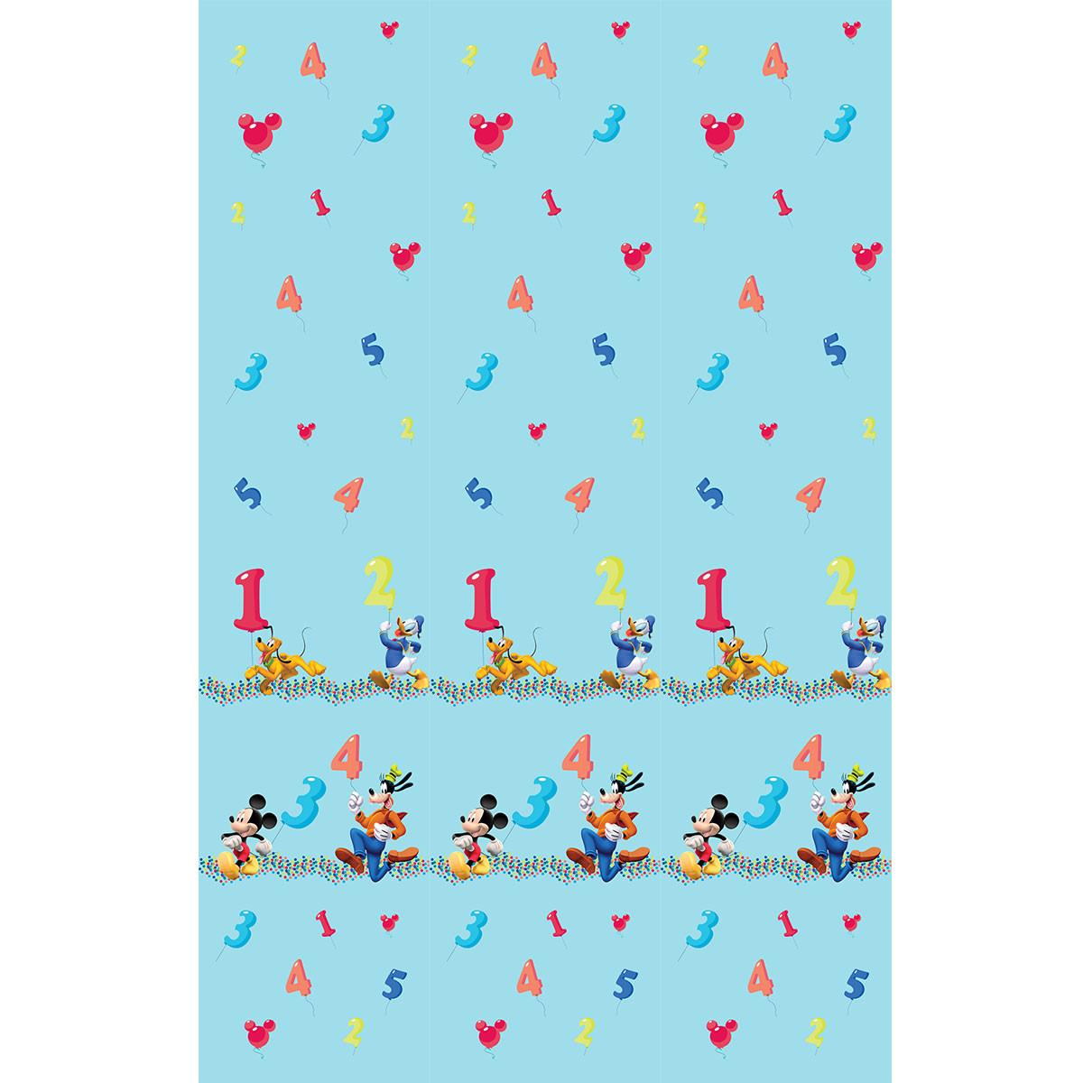 Παιδική Κουρτίνα (140×290) Με Τρέσα Disney ClubHouse CH004 Blue