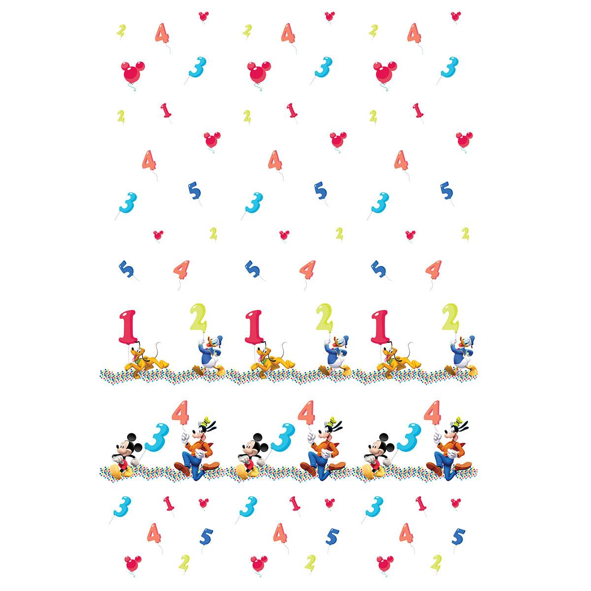 Παιδική Κουρτίνα (140×290) Με Τρέσα Disney ClubHouse CH004 White