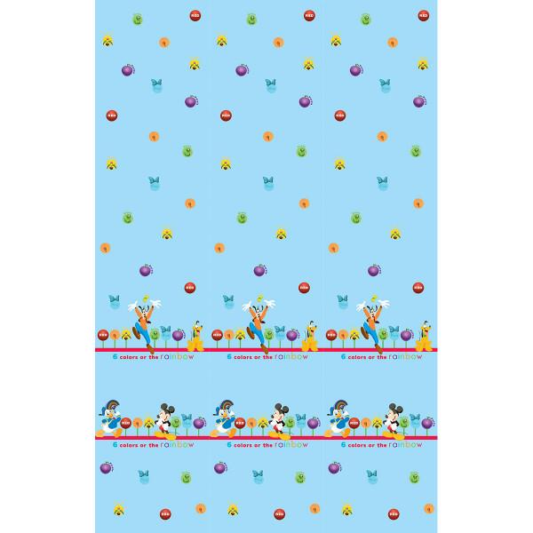 Παιδική Κουρτίνα (140x290) Με Τρέσα Disney ClubHouse CH002 Blue