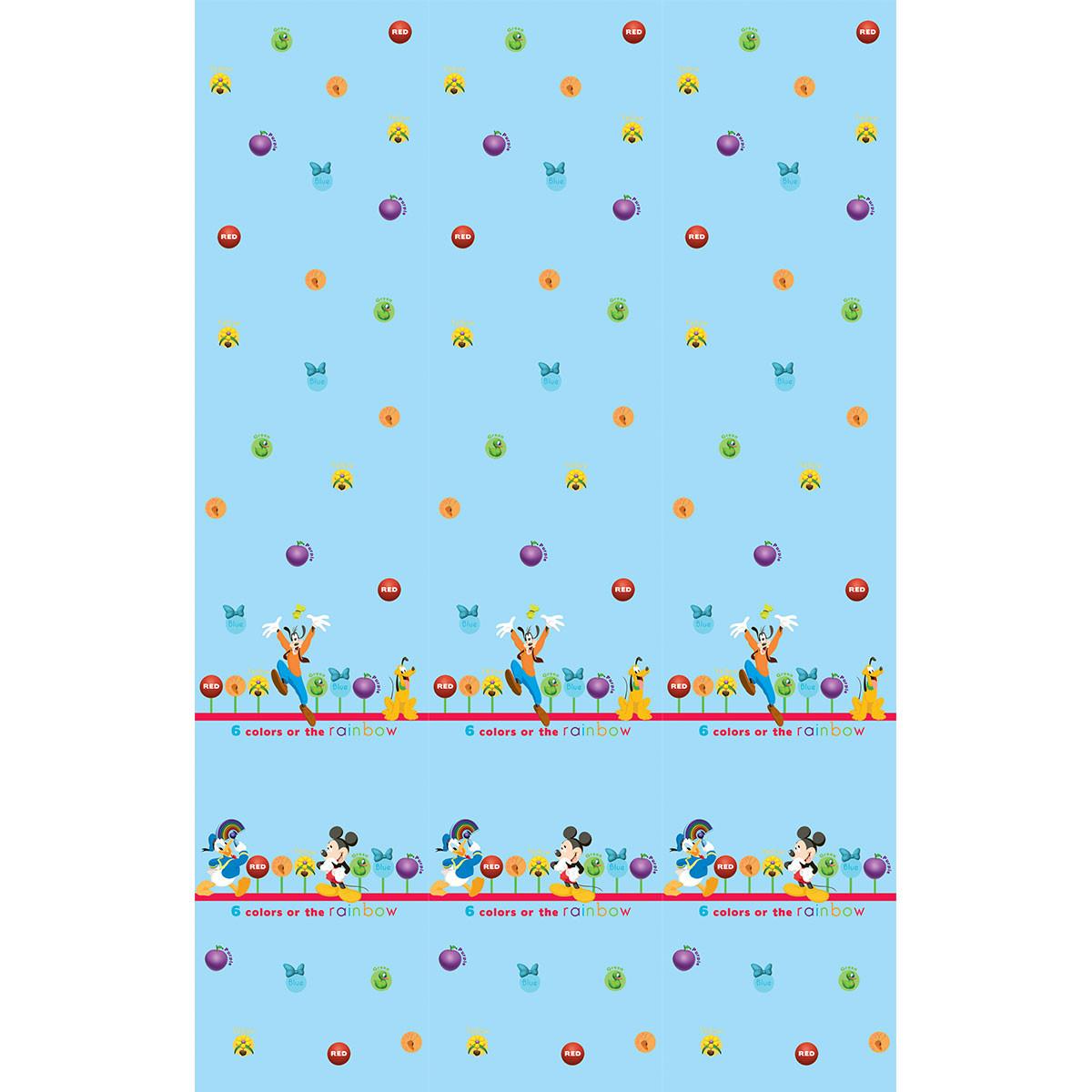 Παιδική Κουρτίνα (140×290) Με Τρέσα Disney ClubHouse CH002 Blue