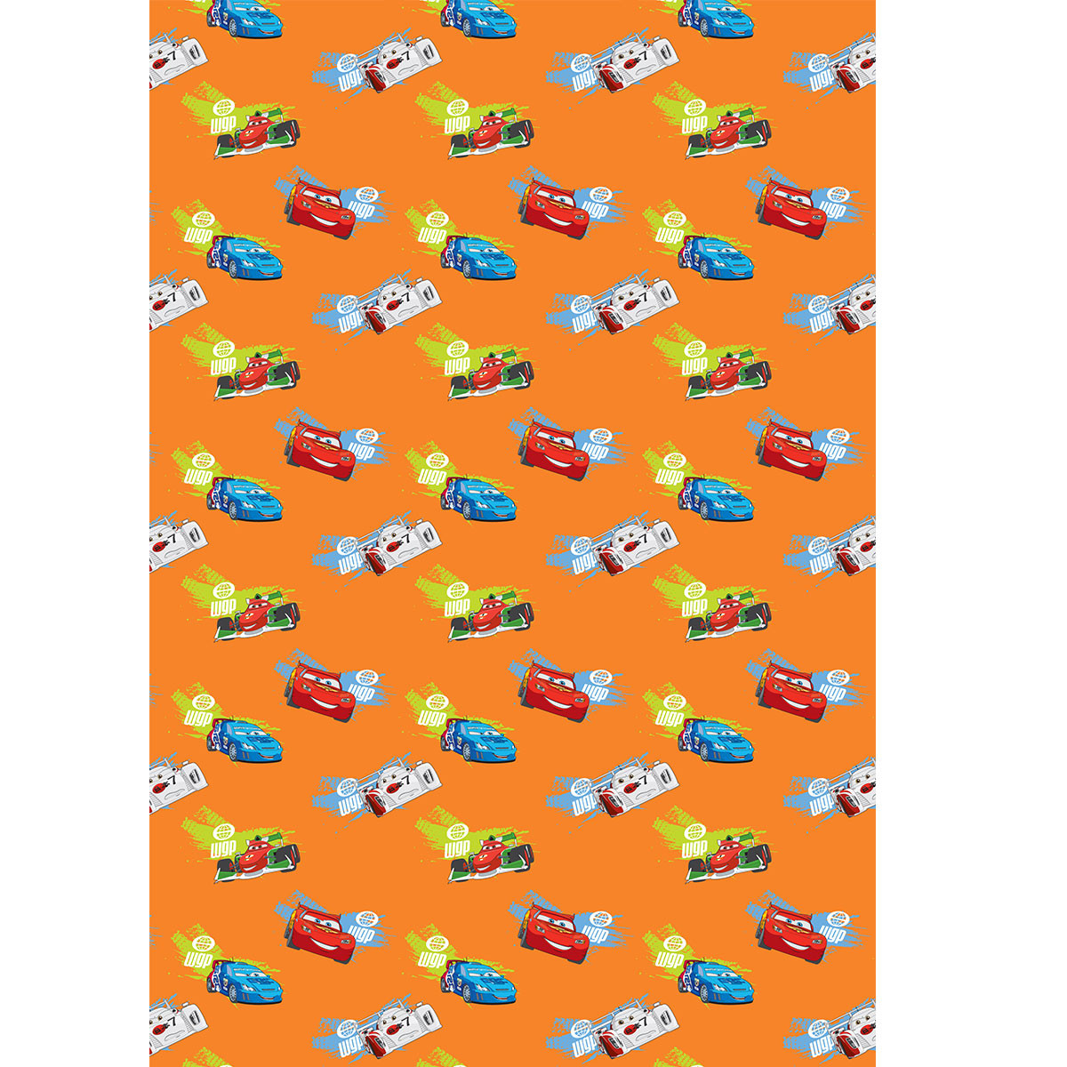 Παιδική Κουρτίνα (140×290) Με Τρέσα Disney Cars CA101 Orange