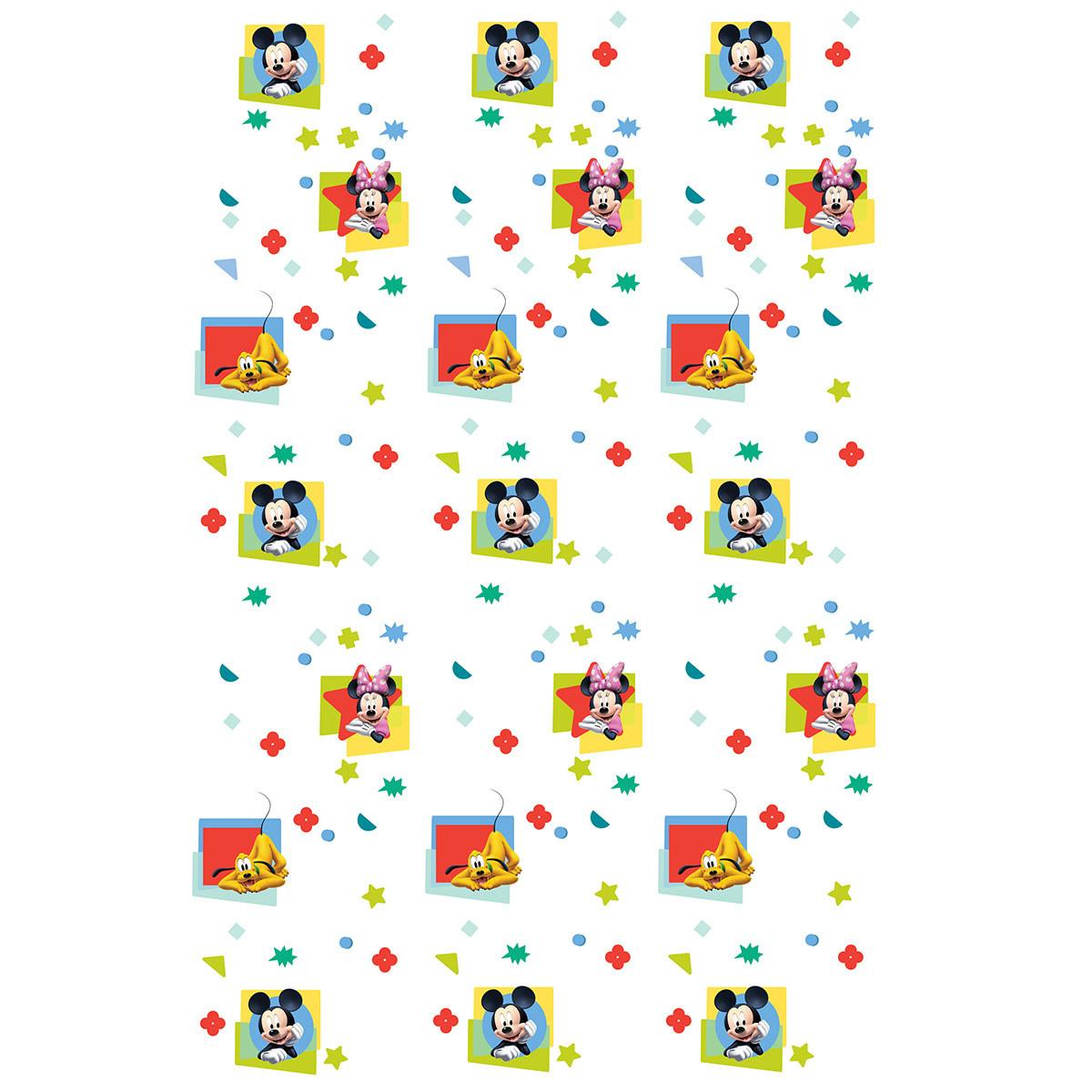 Παιδική Κουρτίνα (140×290) Με Τρέσα Disney ClubHouse CH202 White