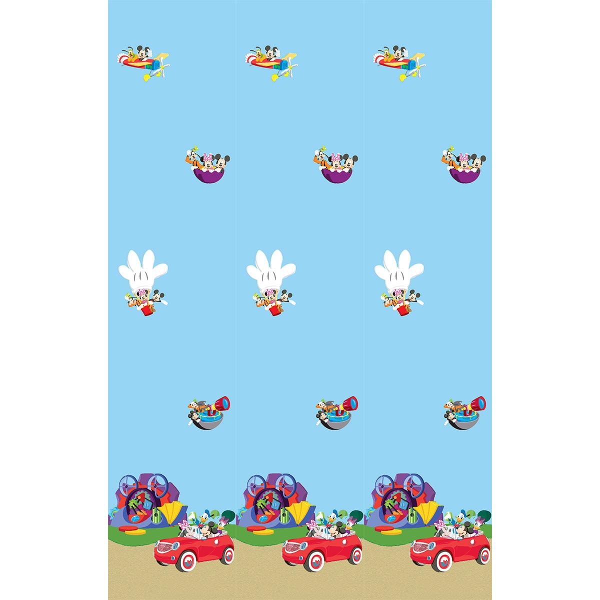 Παιδική Κουρτίνα (140×290) Με Τρέσα Disney ClubHouse 10145 Blue