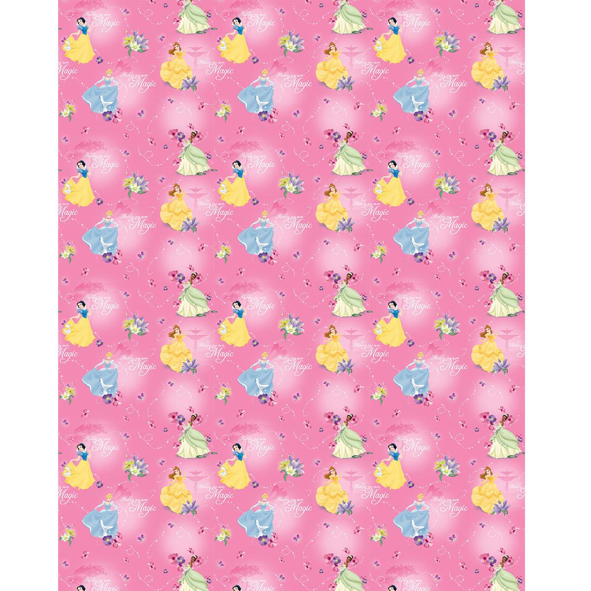 Παιδική Κουρτίνα (140×290) Με Τρέσα Disney Princess PR111 Pink