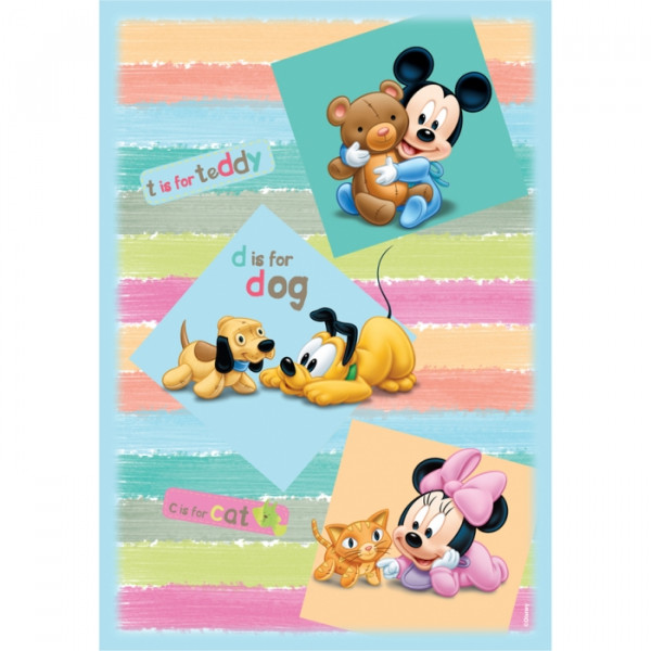 Παιδικό Χαλί (80x120) Disney By Vasilas Mickey Babies 313