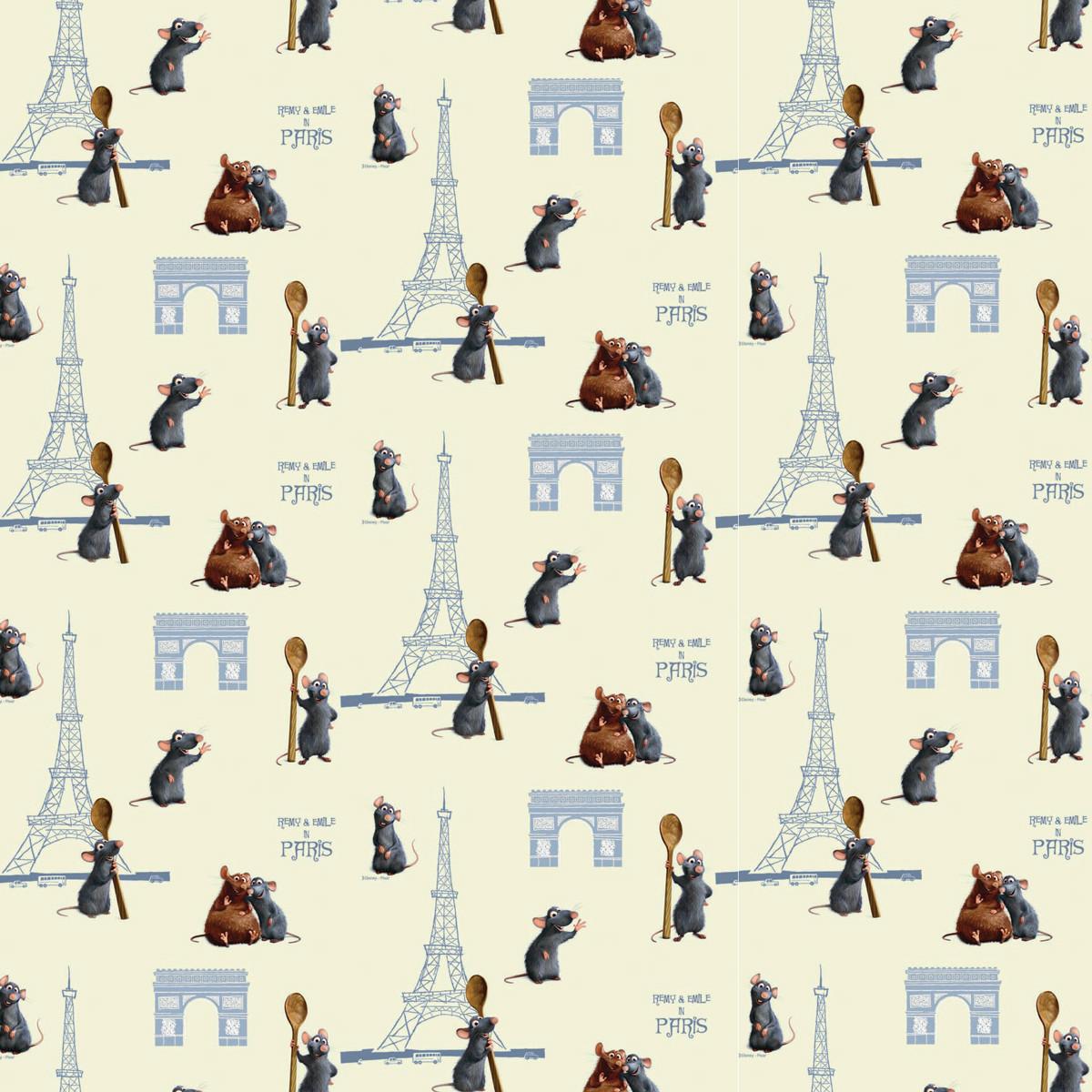 Παιδική Κουρτίνα (140×290) Με Τρέσα Disney Remy 13