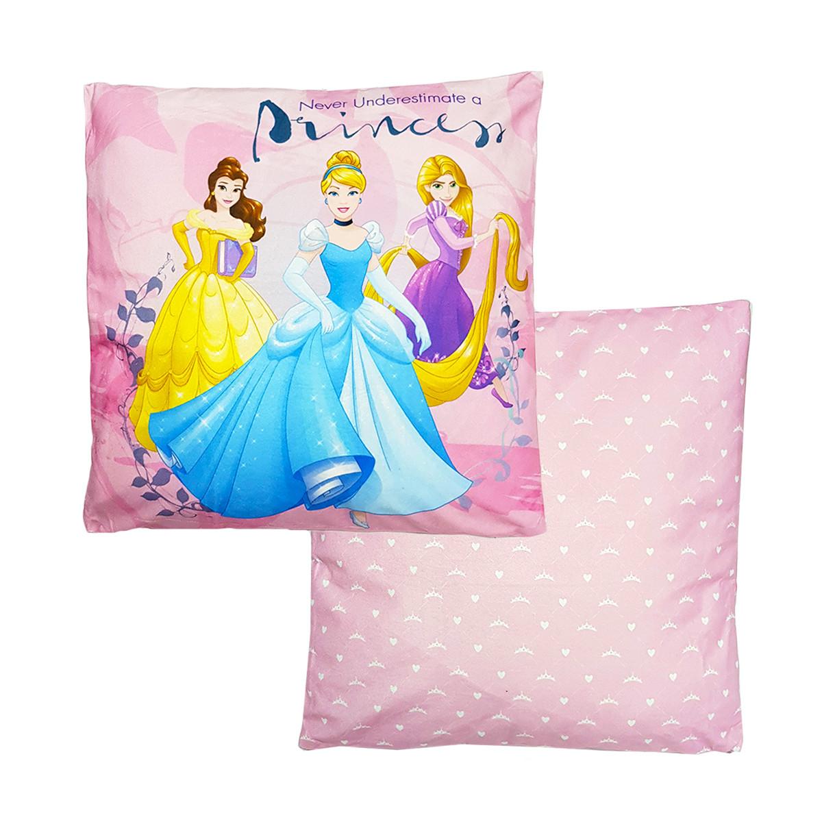 Διακοσμητικό Μαξιλάρι 2 Όψεων Disney By Vasilas Princess 5