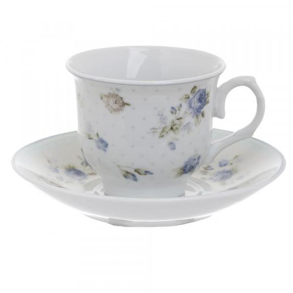 Φλυτζάνια Καφέ + Πιατάκια (Σετ 6τμχ) InArt 3-60-518-0032