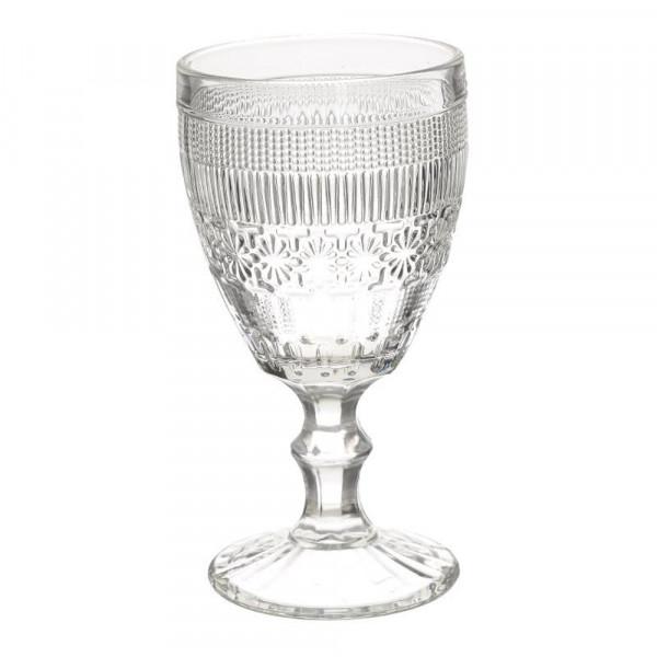 Ποτήρια Κρασιού Κολωνάτα (Σετ 6τμχ) InArt 3-60-095-0001