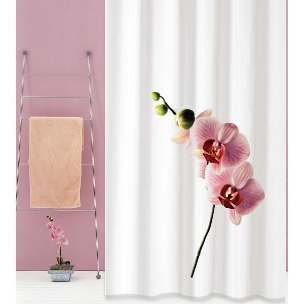 Κουρτίνα Μπάνιου (180x180) San Lorentzo Orchid