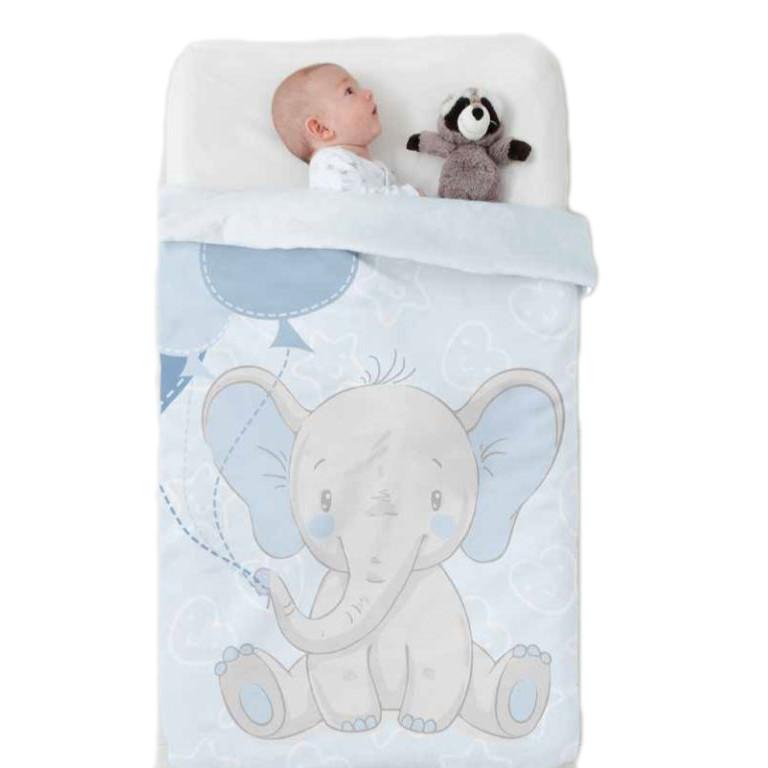 Κουβέρτα Βελουτέ Κούνιας Manterol Baby Vip 524 C08
