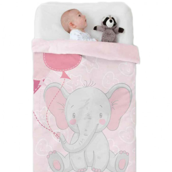 Κουβέρτα Βελουτέ Κούνιας Manterol Baby Vip 524 C04