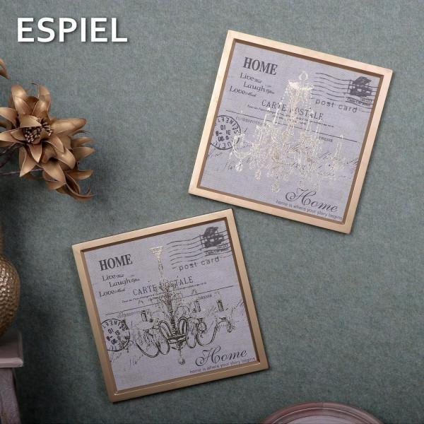 Κάδρο Espiel Πολυέλαιος Ασημί FEC203