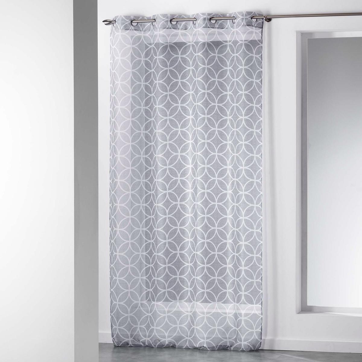 Κουρτίνα (140×280) Με Τρουκς Dario Voilage 1625875