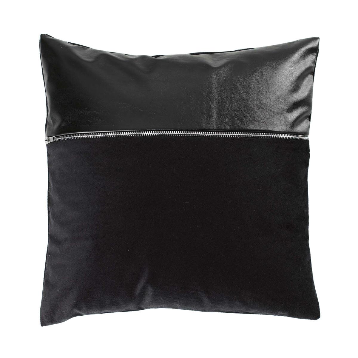 Διακοσμητική Μαξιλαροθήκη Aston Noir 1607606