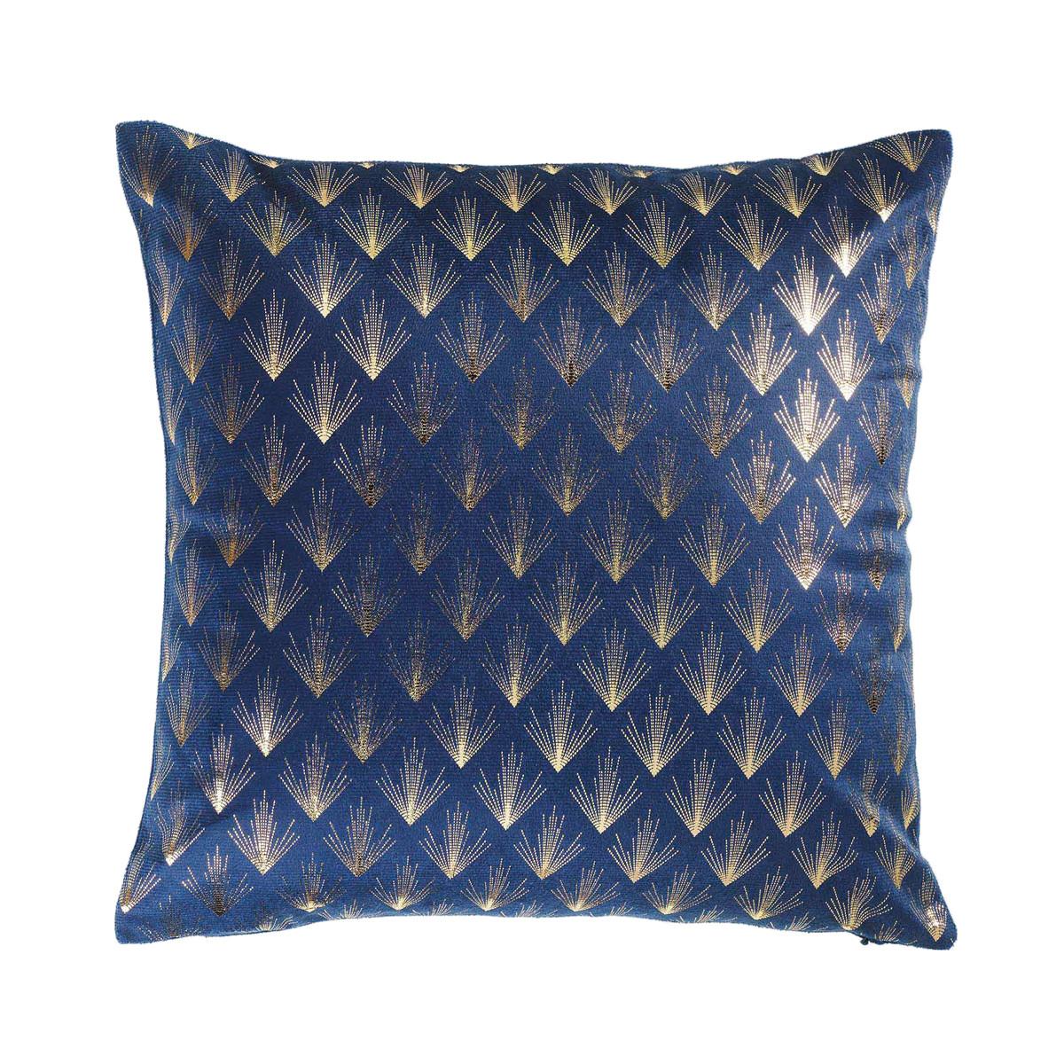 Διακοσμητική Μαξιλαροθήκη Queens Bleu 1607904