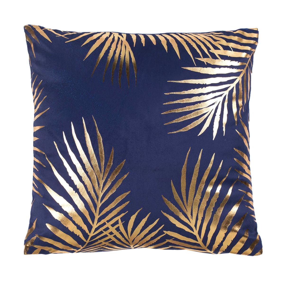 Διακοσμητική Μαξιλαροθήκη Palmaor Bleu 1607900
