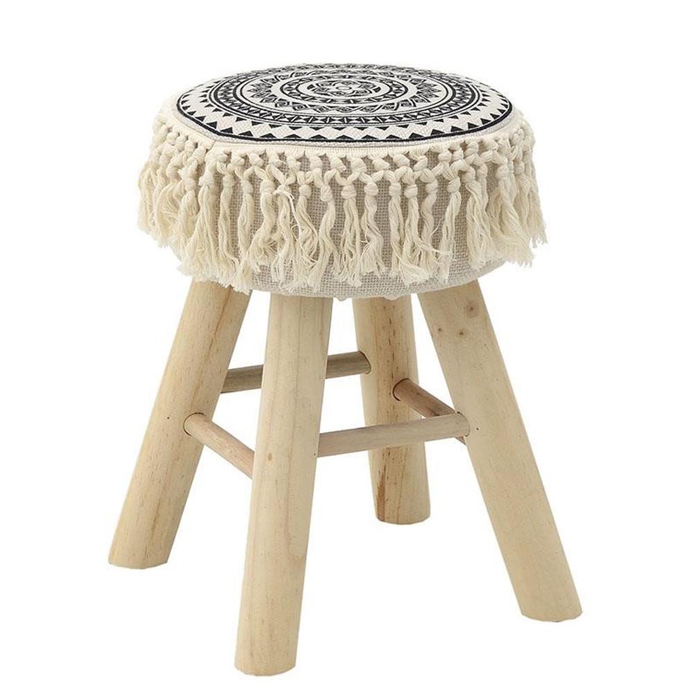 Σκαμπό InArt 3-50-252-0091 home   σαλόνι   μαξιλάρες   πουφ   σκαμπό