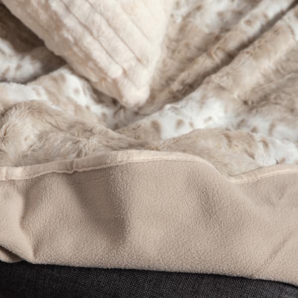 Γούνινο Ριχτάρι Πολυθρόνας (180x180) Silk Fashion Lynx