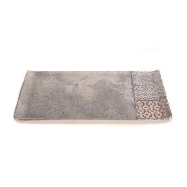 Πιάτο Ρηχό Ορθογώνιο Marva Andalusia 673035