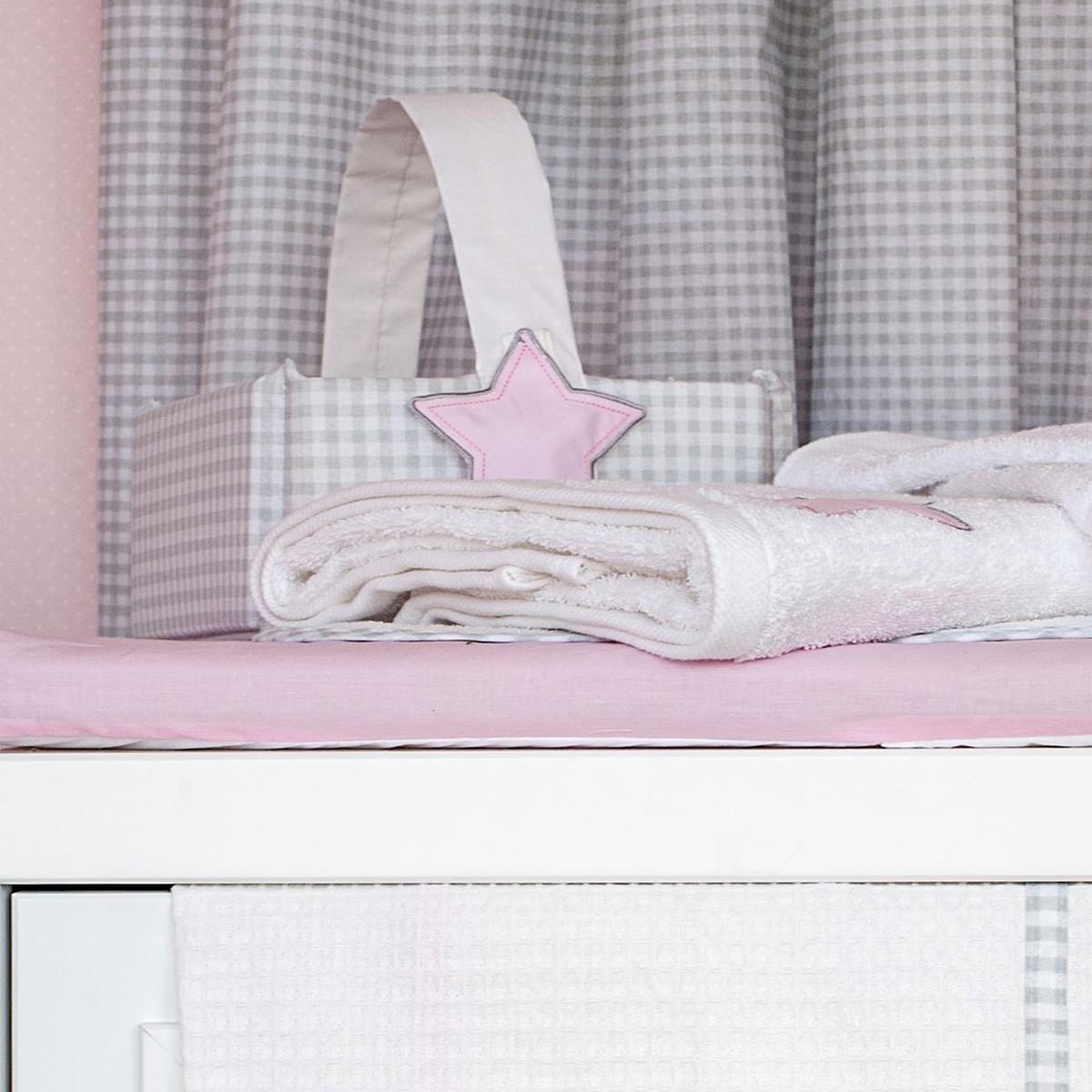 Καλαθάκι Καλλυντικών Baby Oliver Lucky Star Pink 308
