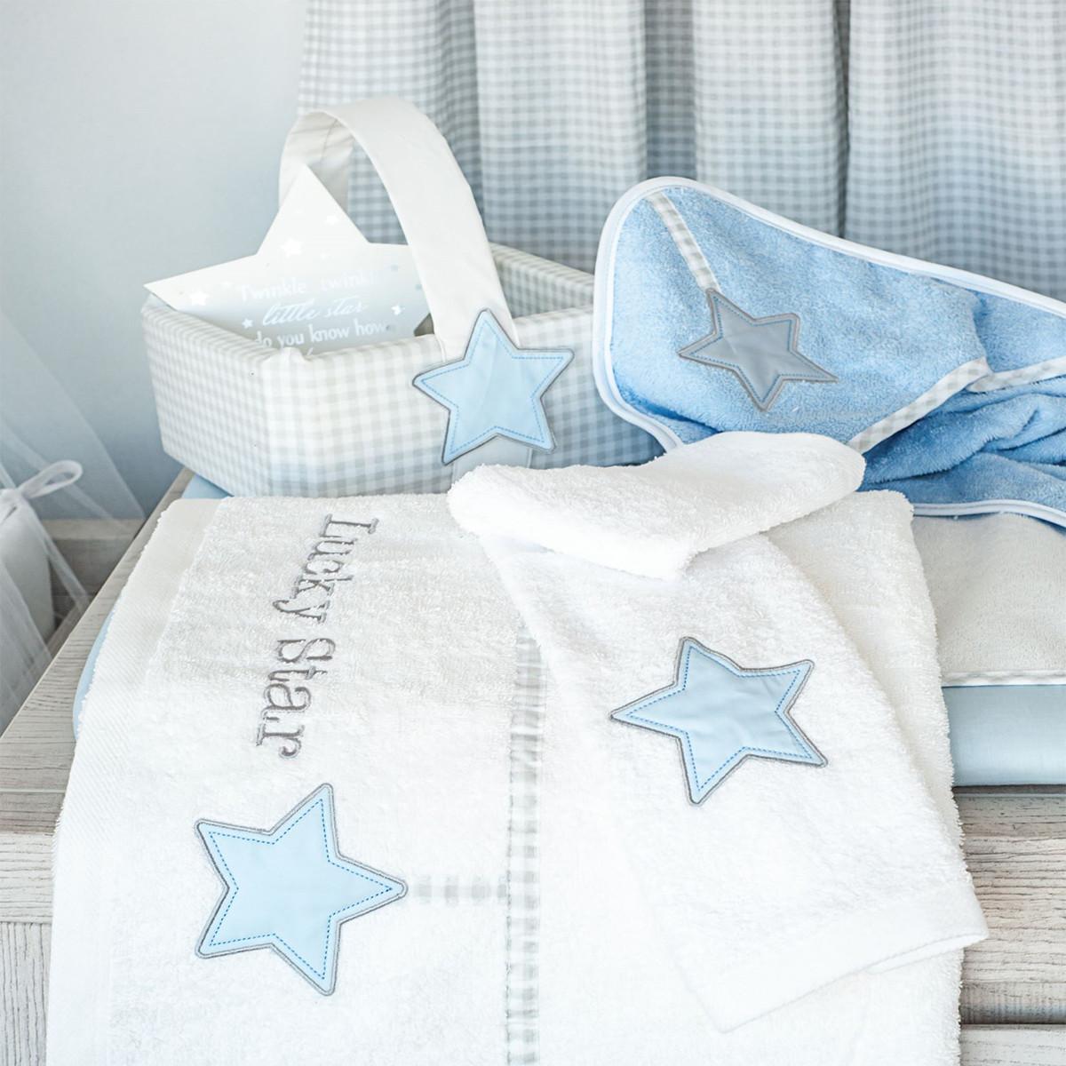 68aefdf5fe4 Καλαθάκι Καλλυντικών Baby Oliver Lucky Star Blue 309 106442