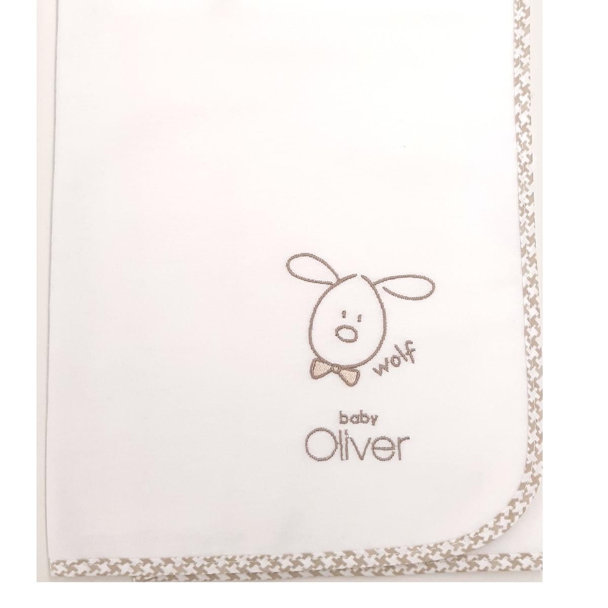 Πάνα Φανελένια Baby Oliver Mr.Wolf & Co 305