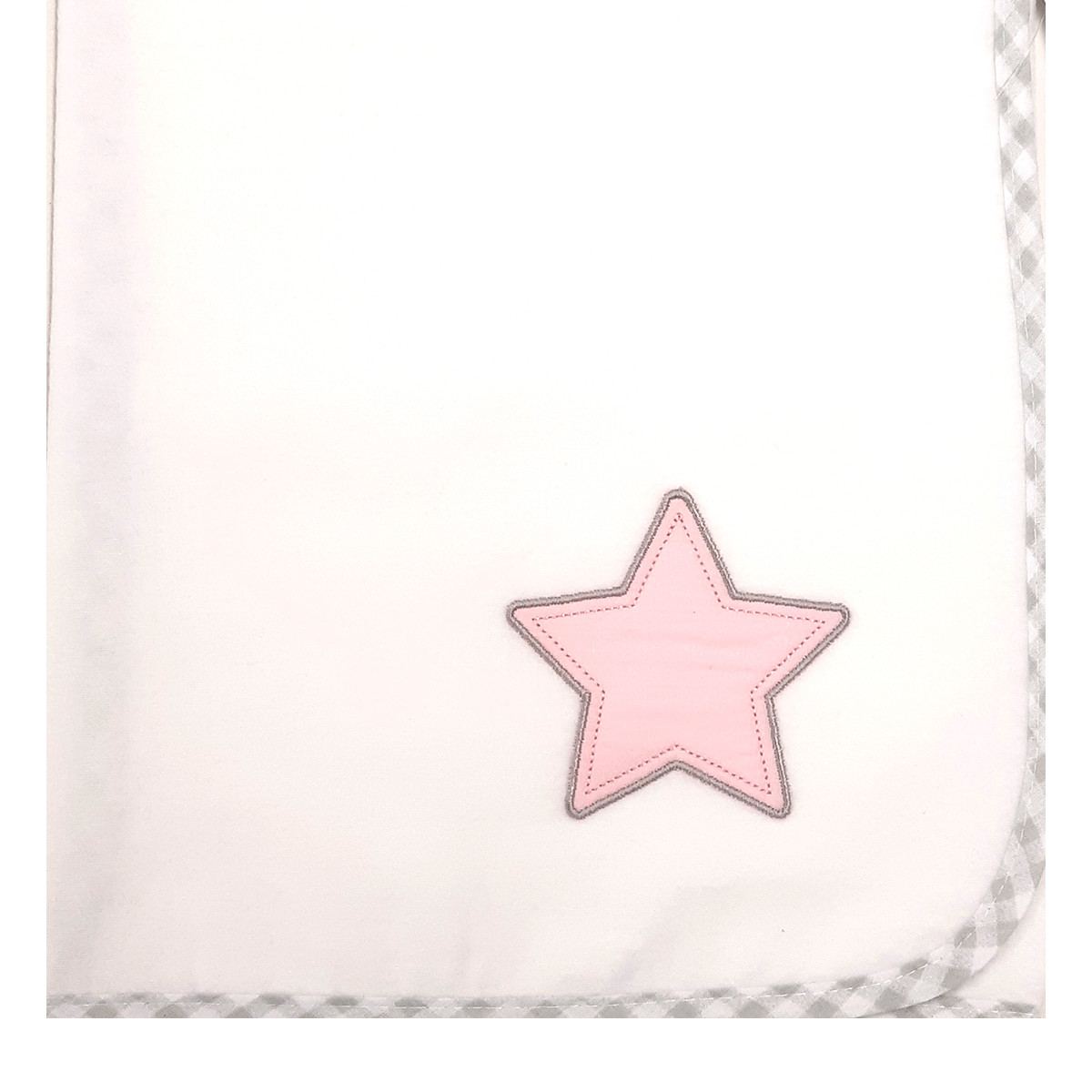 Πάνα Φανελένια Baby Oliver Lucky Star Pink 308
