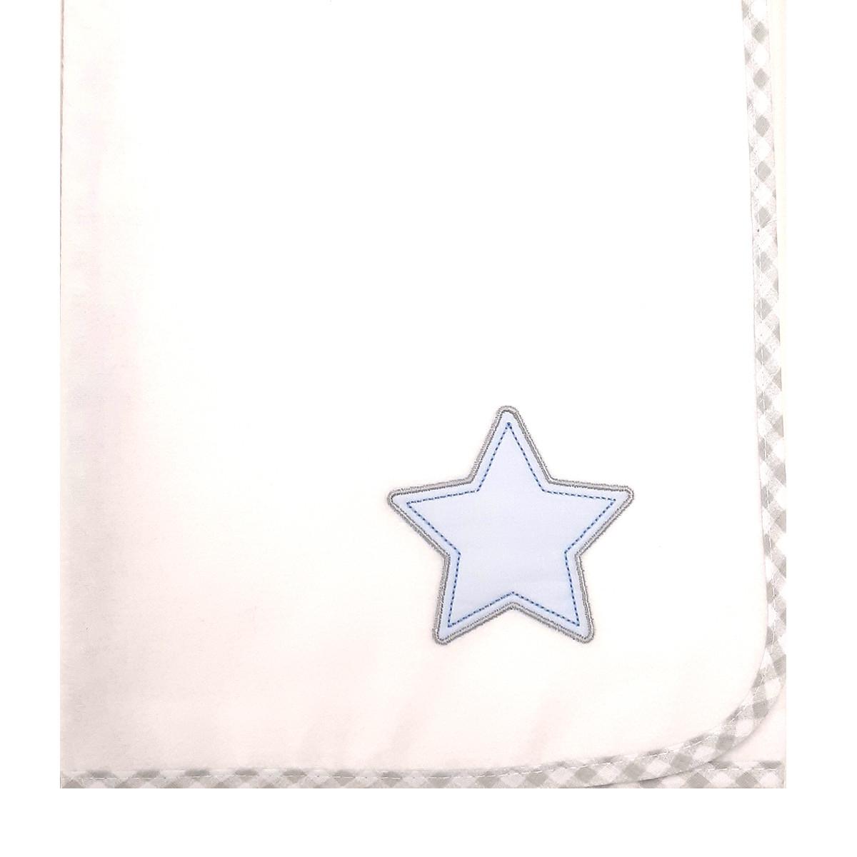 Πάνα Φανελένια Baby Oliver Lucky Star Blue 309