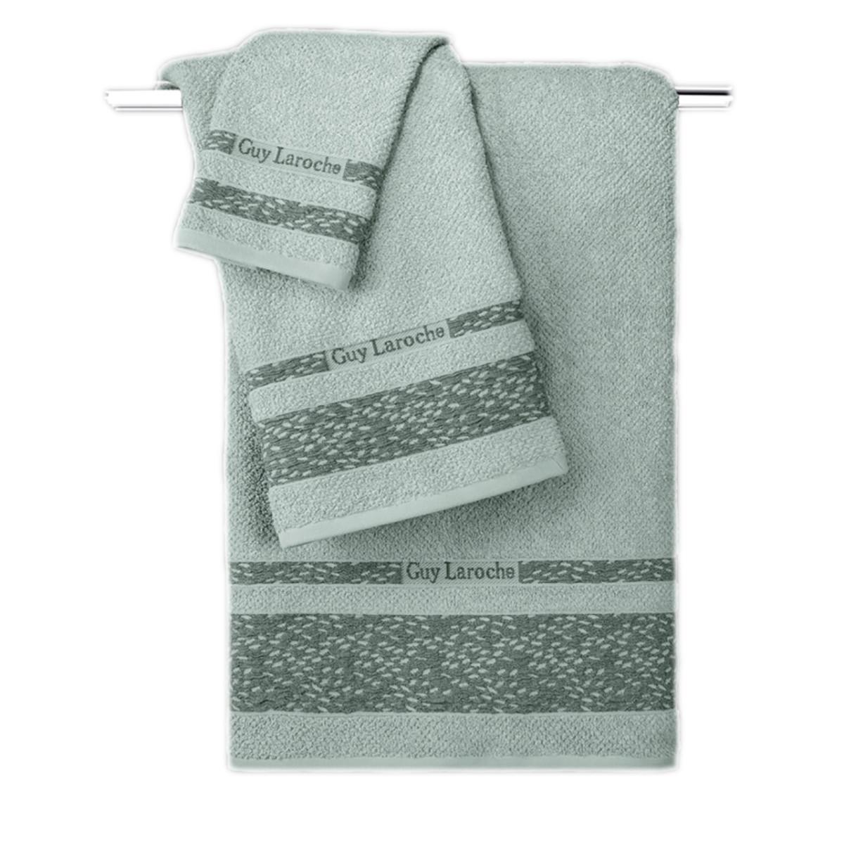 Πετσέτες Μπάνιου (Σετ 3τμχ) Guy Laroche Anton Mint