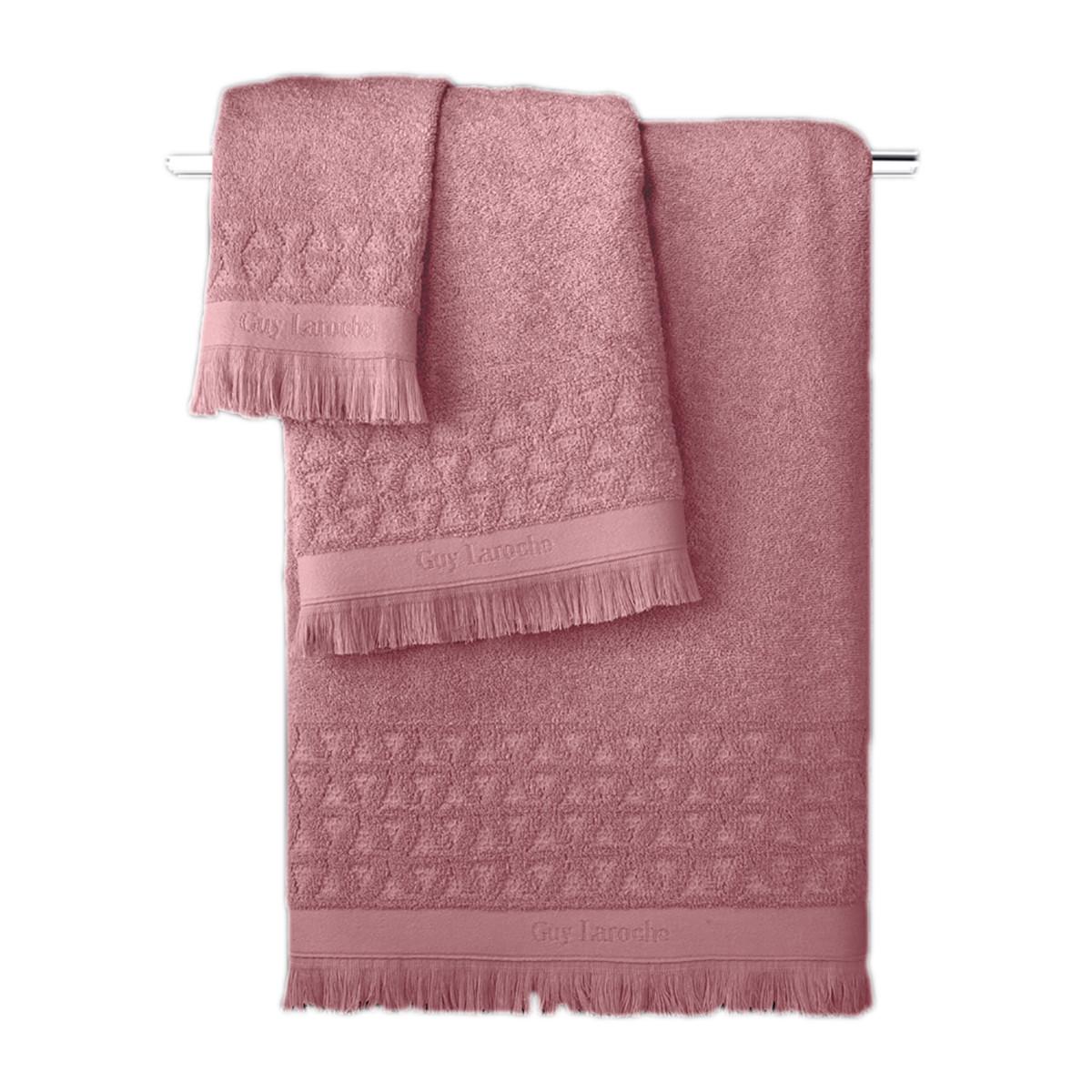 Πετσέτες Μπάνιου (Σετ 3τμχ) Guy Laroche Vergo Iris
