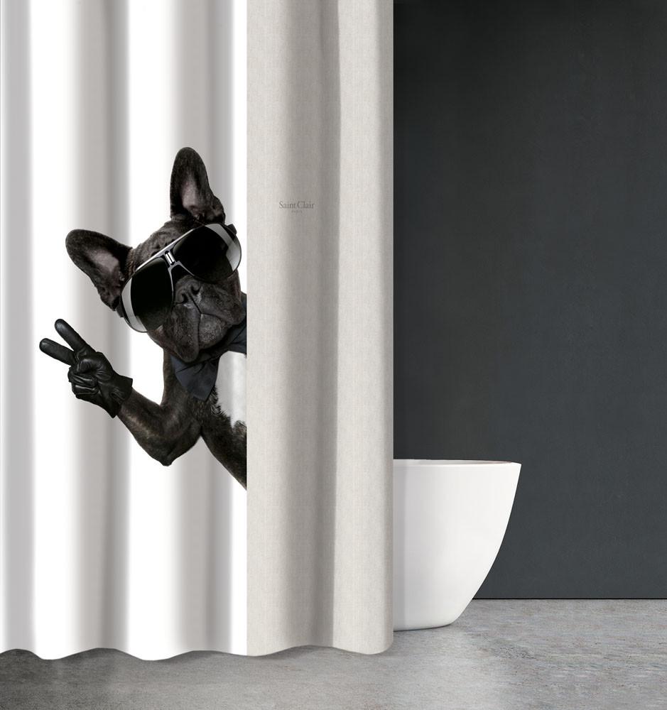 Κουρτίνα Μπάνιου (180×200) Saint Clair Funny Des 504