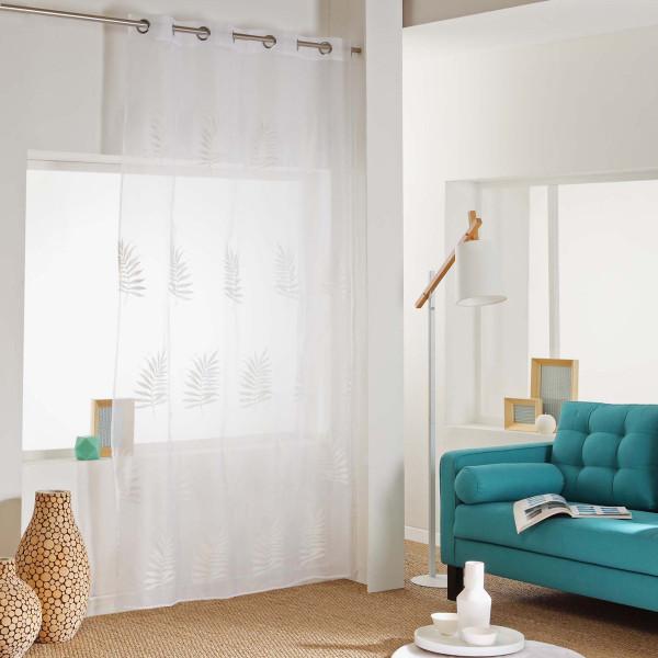 Κουρτίνα (140x240) Με Τρουκς Efira Blanc 1625980