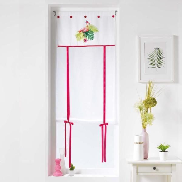Κουρτίνα Παραθύρου (60x150) Flamingo Rosa 1626088