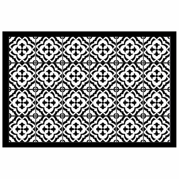 Πατάκι Βινυλίου (50x75) Vittoria Noir 1740846