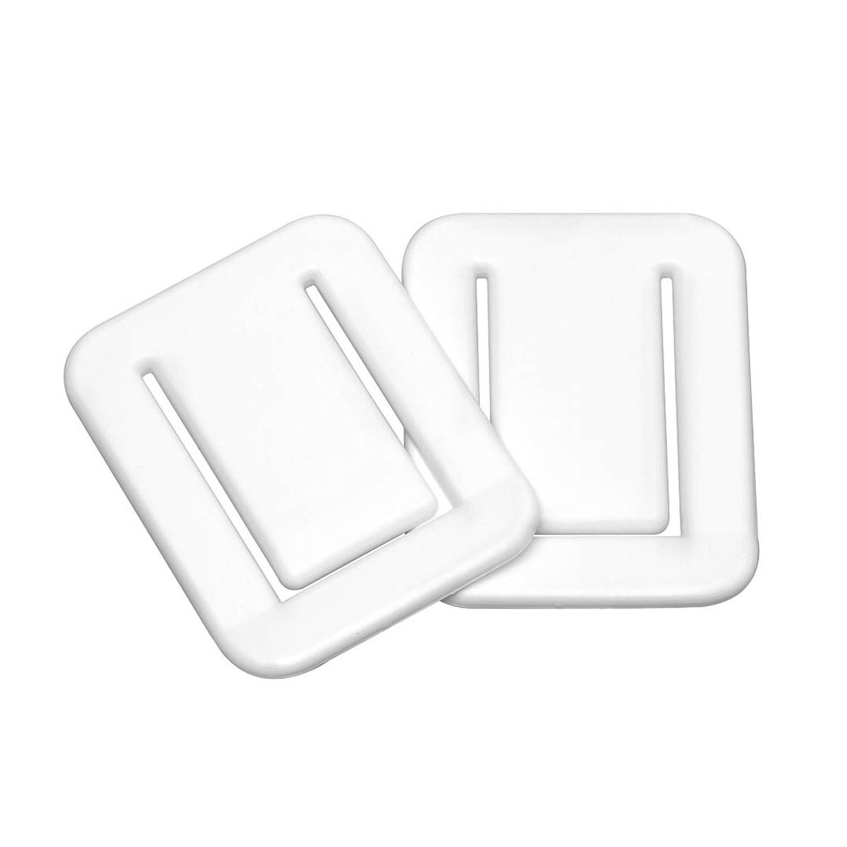 Στηρίγματα Σταθεροπoίησης Κουρτίνας Μπάνιου (Σετ 2τμχ) SealSkin Fix White