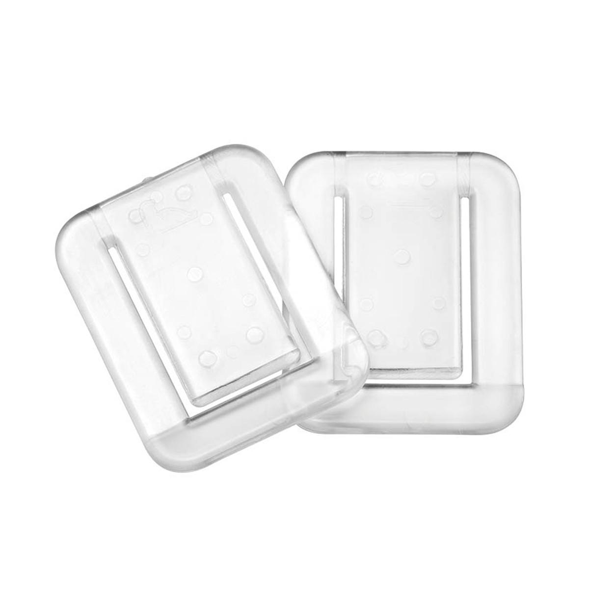 Στηρίγματα Σταθεροπoίησης Κουρτίνας Μπάνιου (Σετ 2τμχ) SealSkin Fix Clear