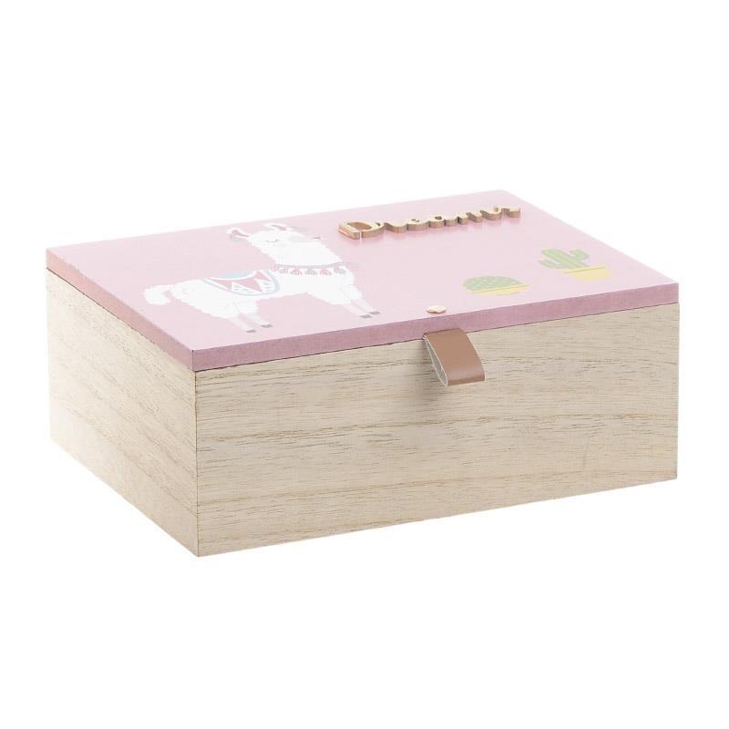 Κουτί Αποθήκευσης InArt 3-70-058-0019 home   παιδικά   παιδική διακόσμηση