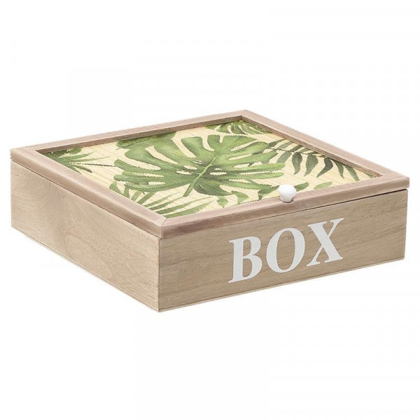 Κουτί Αποθήκευσης (24x24x7) InArt 3-70-648-0003