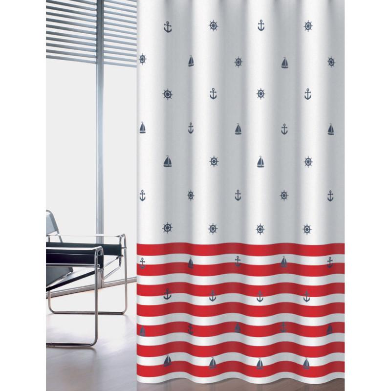 Κουρτίνα Μπάνιου (180x200) Joy Bath Navy