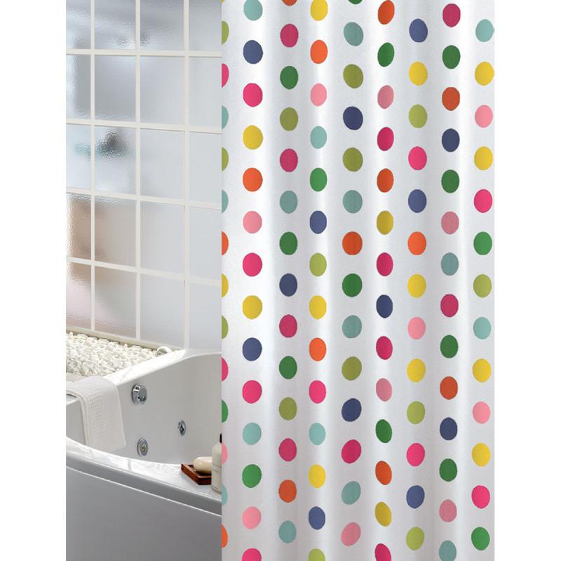 Κουρτίνα Μπάνιου (180x200) Joy Bath Dots