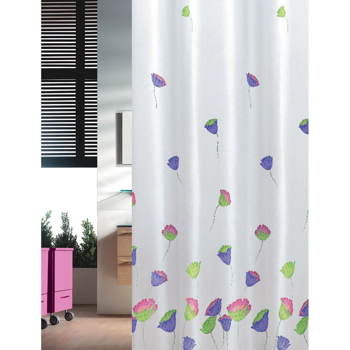 Κουρτίνα Μπάνιου (240×200) Joy Bath Tulips