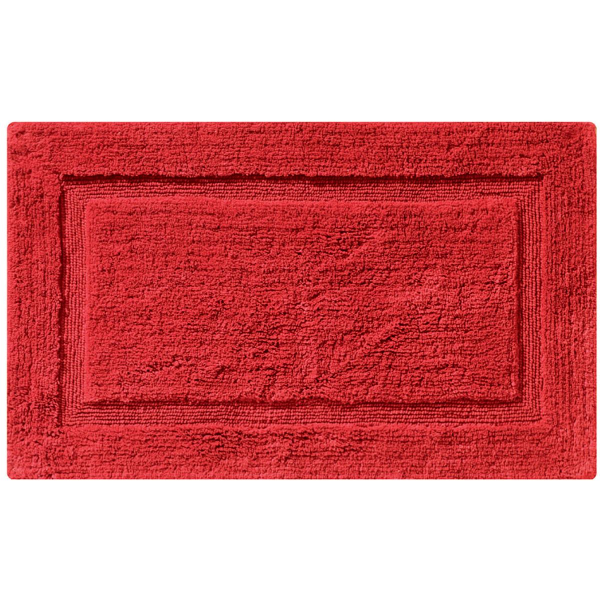 Πατάκι Μπάνιου (50×80) Joy Bath Border Red