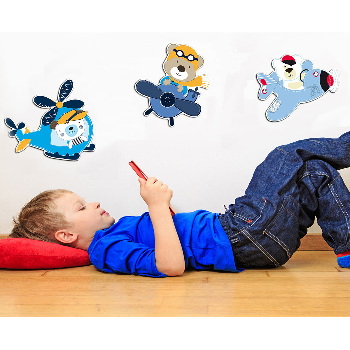 Παιδικά Αφρώδη Αυτοκόλλητα Τοίχου Ango Bears 11204 home   παιδικά   παιδική διακόσμηση