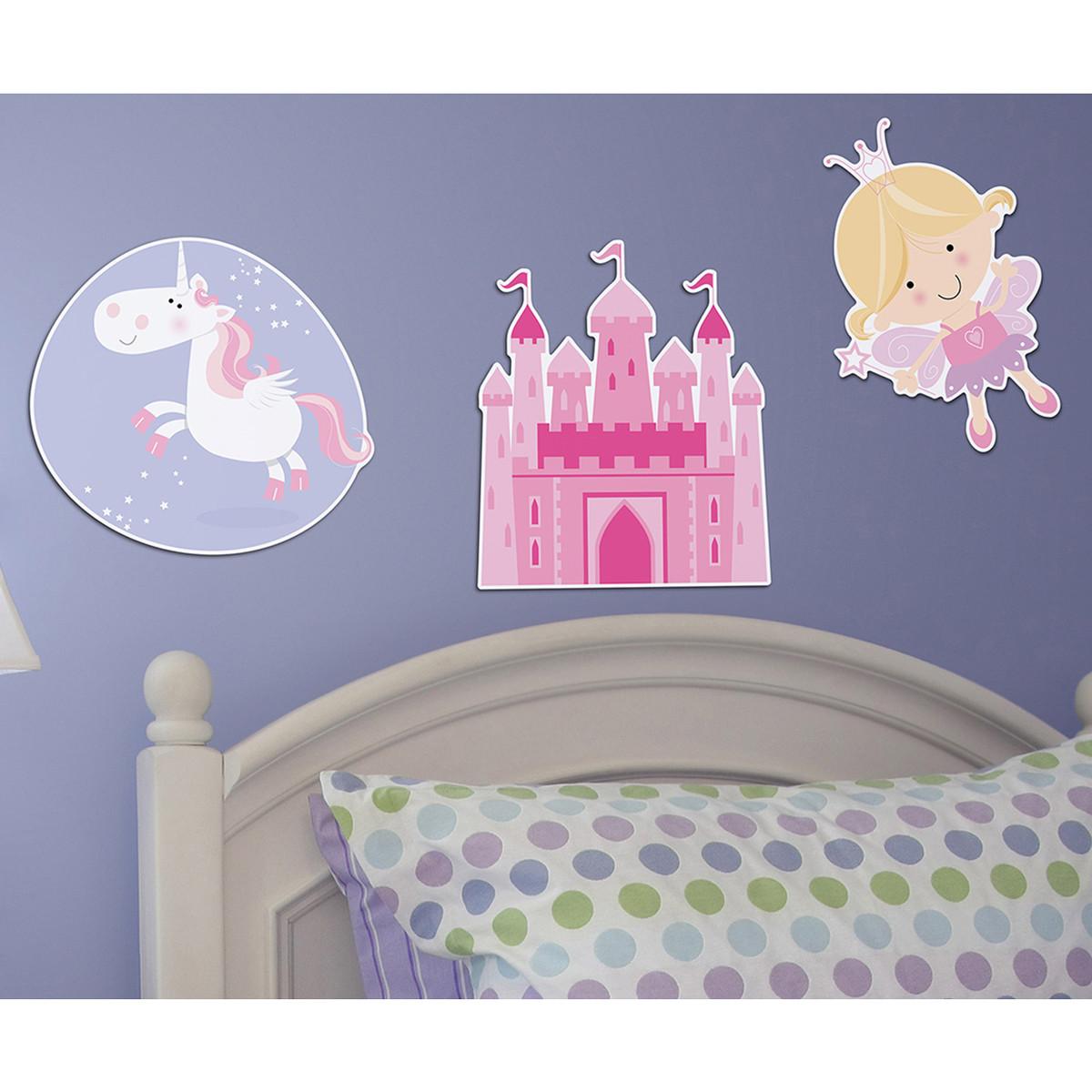 Παιδικά Αφρώδη Αυτοκόλλητα Τοίχου Ango Happy Fairies 11208 home   παιδικά   παιδική διακόσμηση